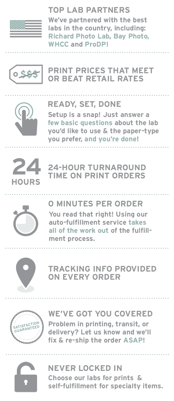 infographic: why choose instaproofs fulfillment